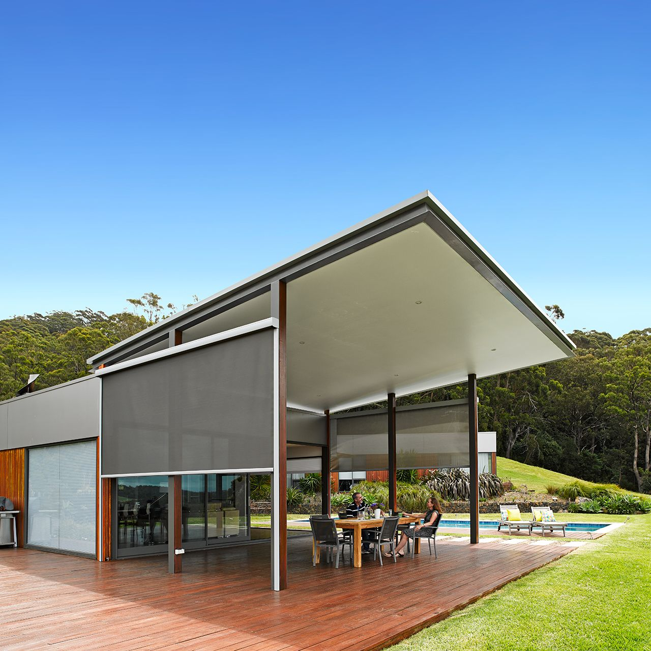 the best attitude ac16d c156d Luxaflex Evo awning will help keep your home cool during ...