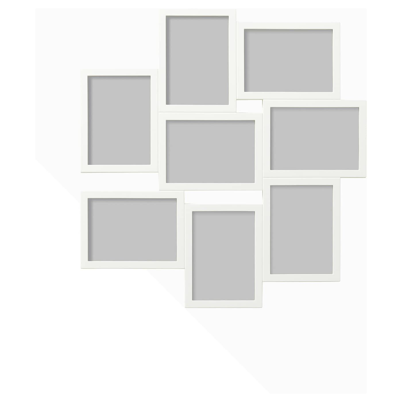 Ikea Vaxbo White Collage Frame For 8 Photos In 2020 Collage Frames Ikea Frames Ikea