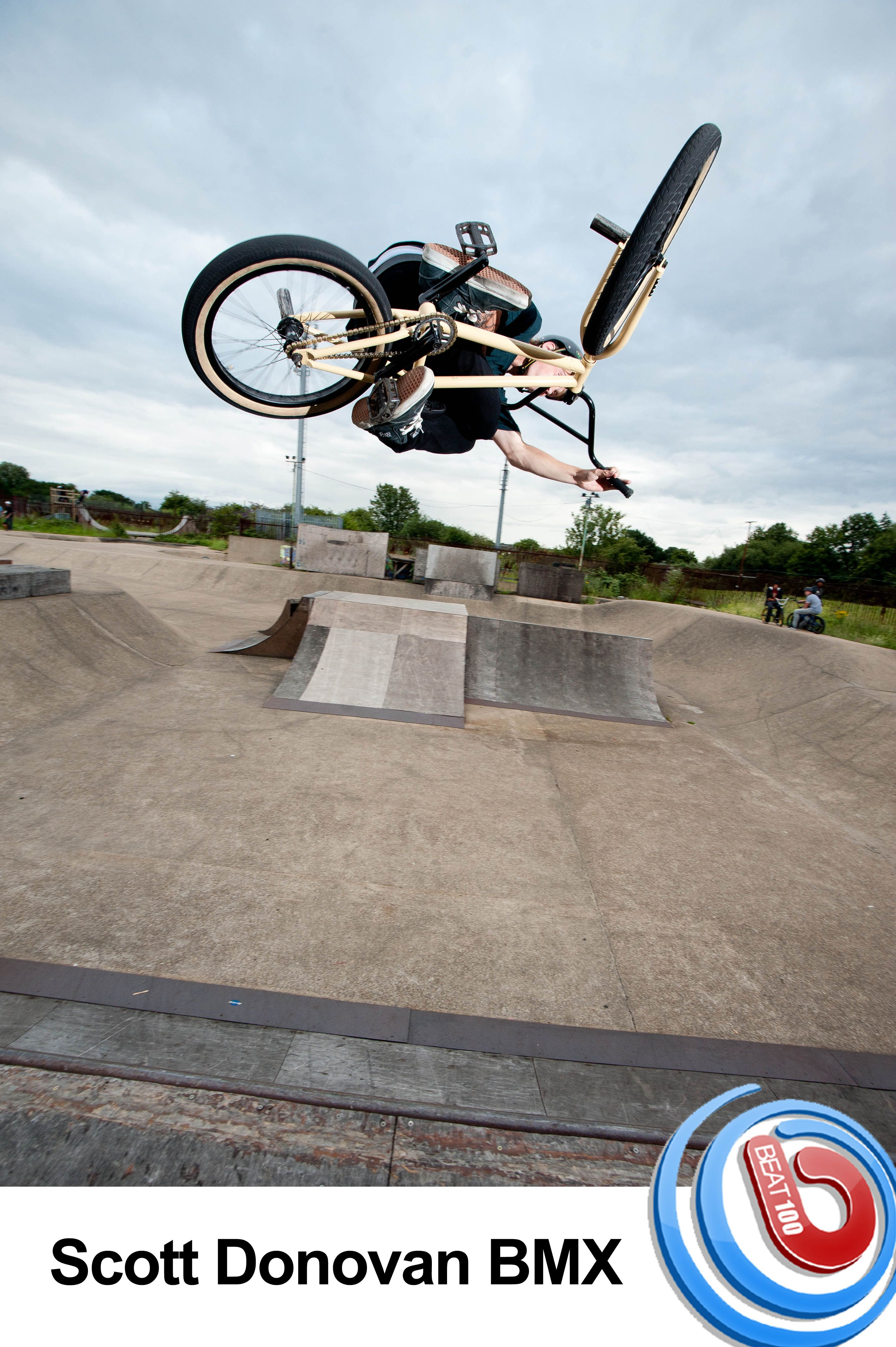 Scott Donovan is a BMX Rider from the UK, Scott is looking to become a pro BMX rider sometime soon. Check me out on. Click image to view video Beat100.com