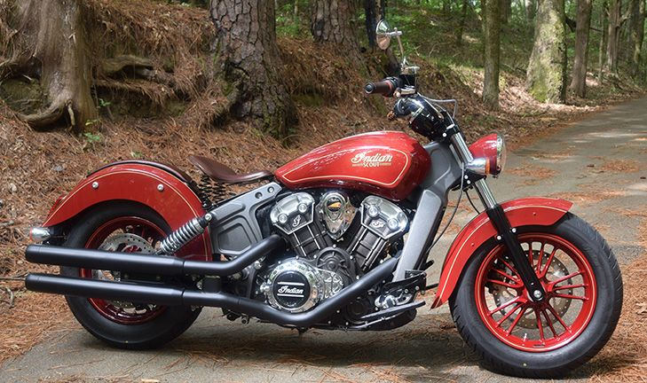 Custom Bike: 2017 Indian Scout - Thunder Black | Auta