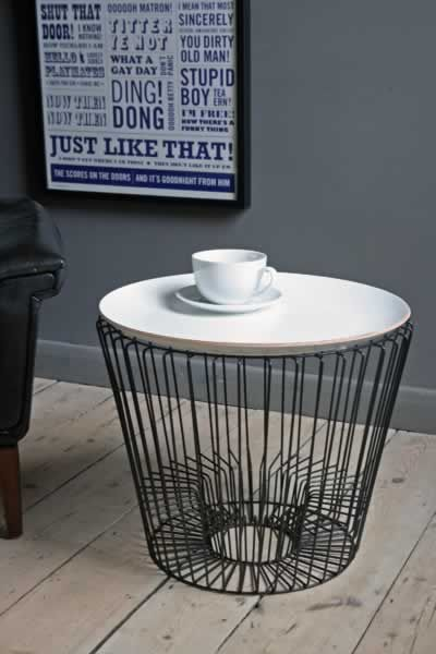 Wire home accessories are bang on trend and this coffee table wire home accessories are bang on trend and this coffee table ticks so many boxes greentooth Choice Image