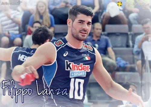 Italian Volleyball Player Filippo Lanza Pallavolo