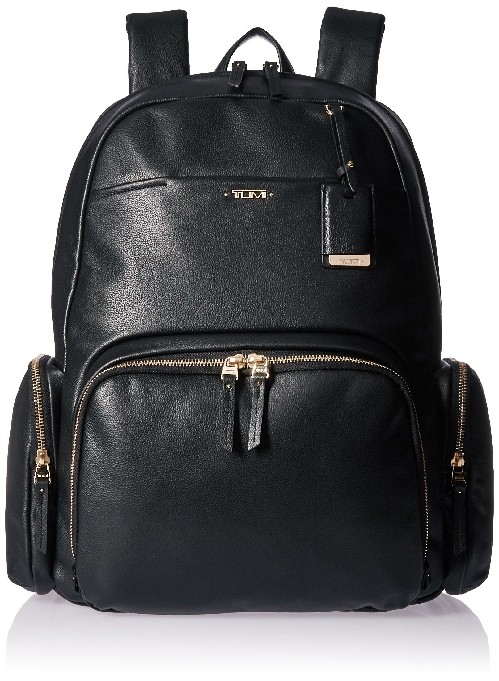 Tumi Women s Voyageur Leather Calais Backpack 29a6abc2ea786