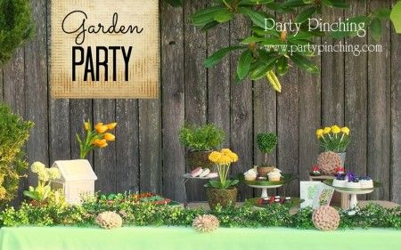 garden party ideas, garden party desserts | Garden Party | Pinterest ...