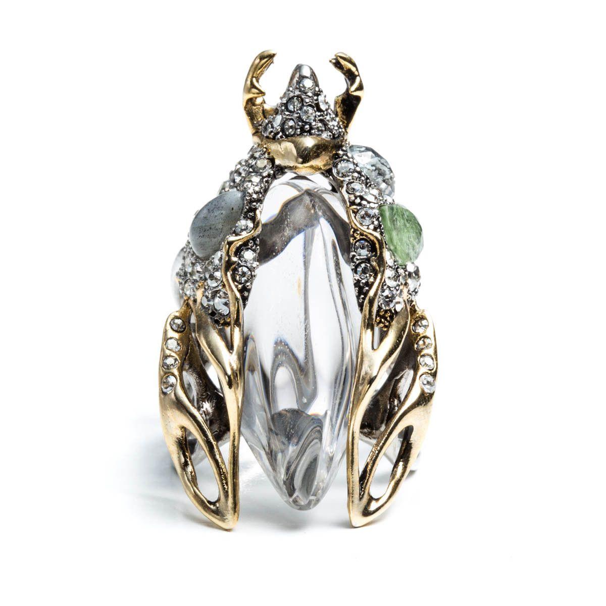 Jardin Mystère Scarab Beetle Ring | Alexis Bittar