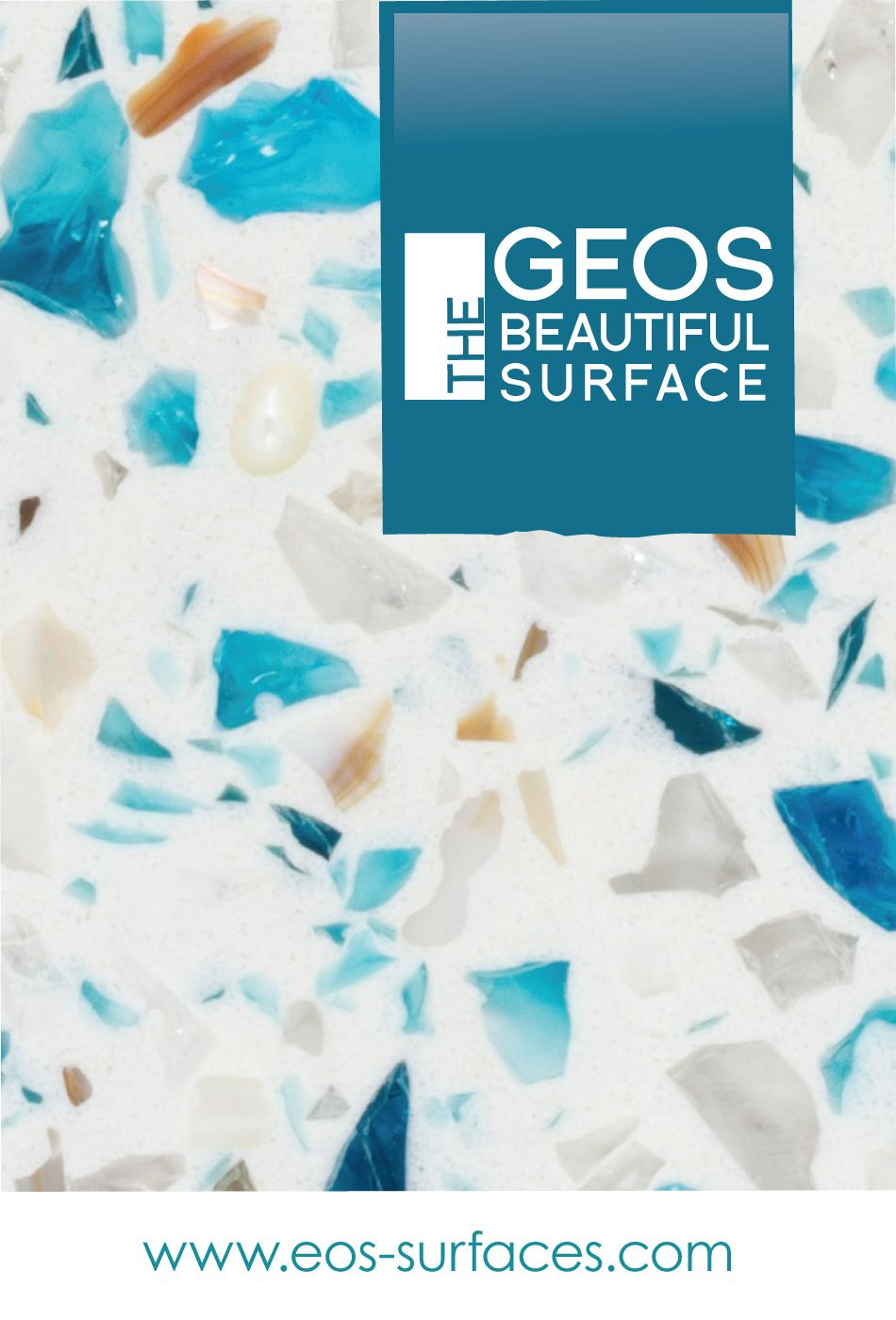 GEOS Recycled Glass Surfaces are BEAUTIFUL! Visually stunning with a ...