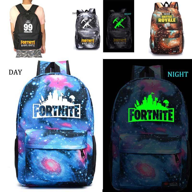 f740335d1f46 Fortnite Battle Royale school bag noctilucous backpack student school bag  Notebook backpack Daily backpack   Price   51.00   FREE Shipping      videogames ...