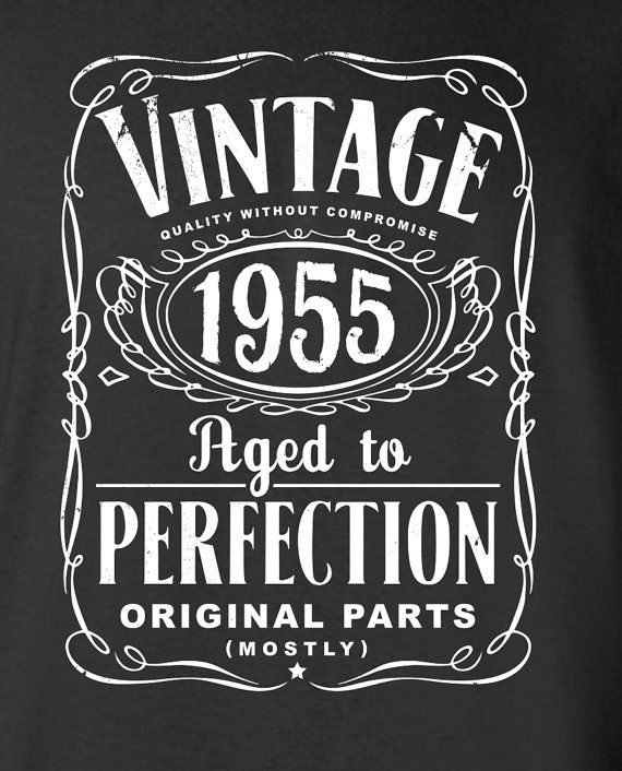 60th birthday gift for men and women  vintage 1955 aged