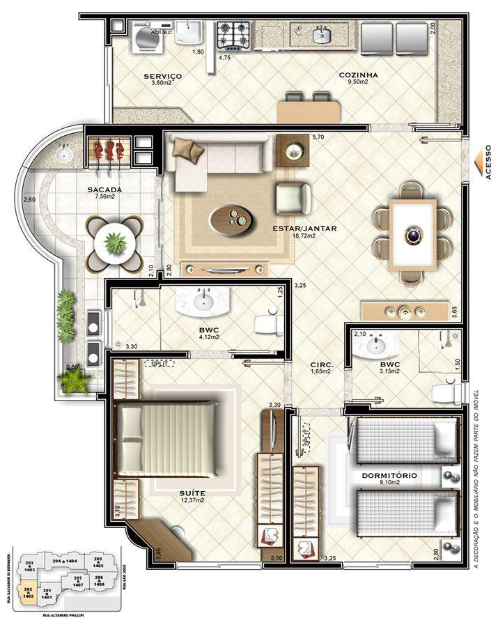 Grande 80c158197f22101ba47c5fb8b9b330d9 Jpg 715 900 Projetos De Casas Plantas De Casas Arquitetura Residencial