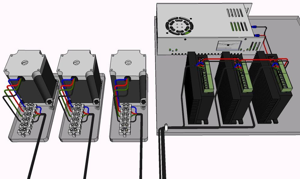 cnc wire div268n to power cnc pinterest. Black Bedroom Furniture Sets. Home Design Ideas