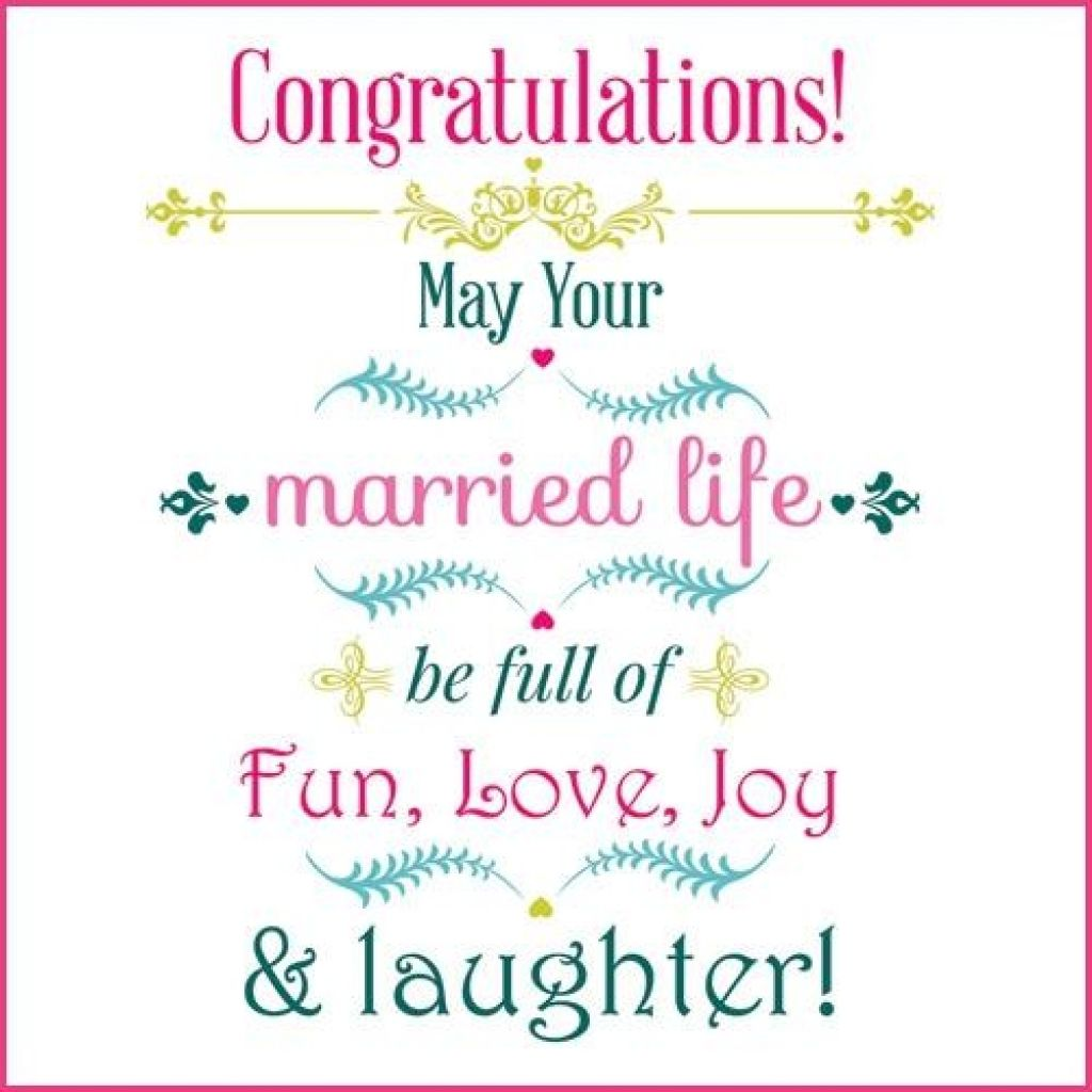 Congratulations Wedding Card And Get Inspired To Create ...