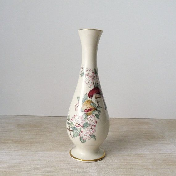 Vintage Lenox Vases Lenox Serenade Vintage Vase Flowers And Bird