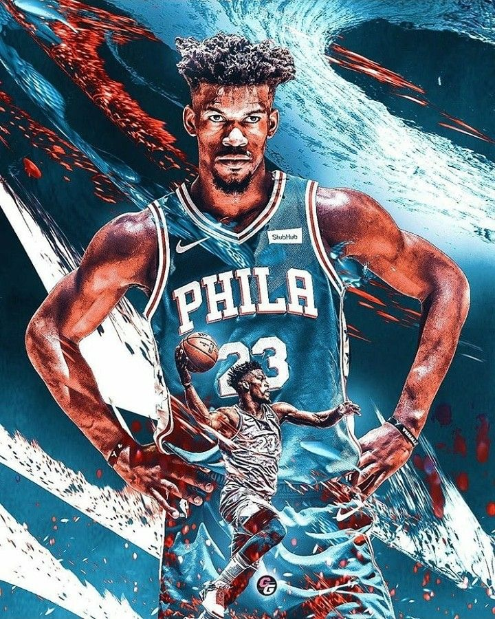 Jimmy Butler Nba Basketball Art Nba Art Basketball Players Nba
