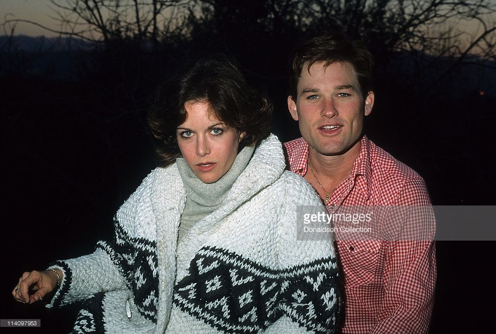 Actor Kurt Russell and Actress Season Hubley pose for a ...