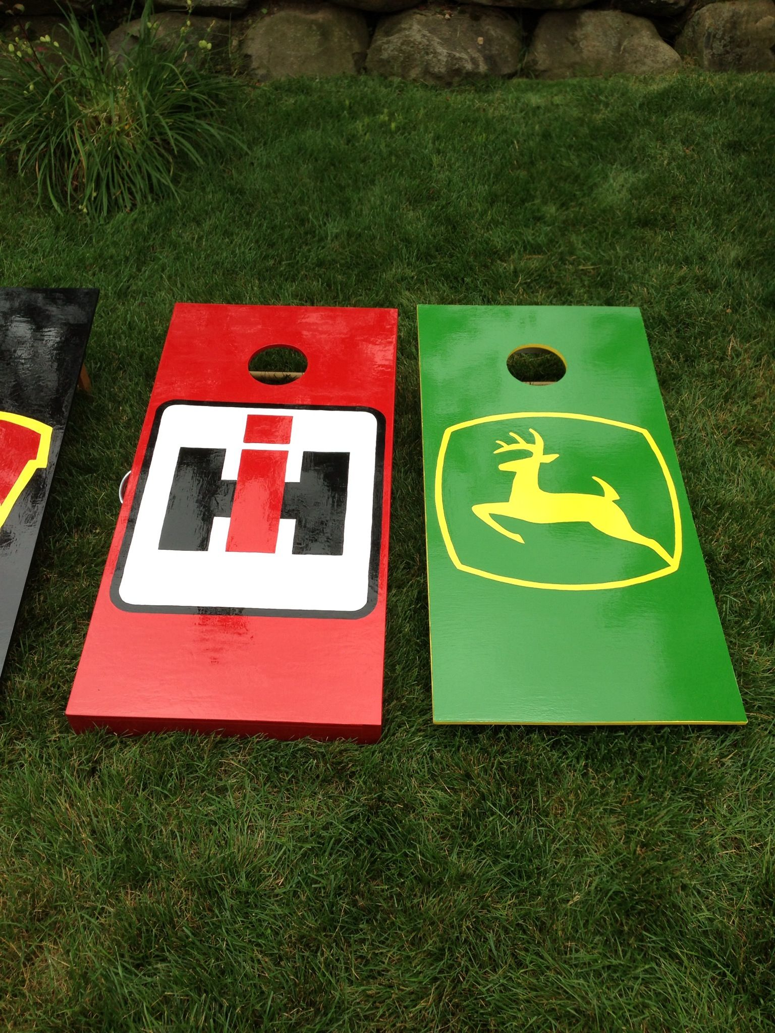 These are the boards my dad made for my cousin and his