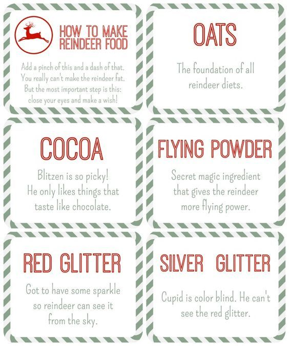 Reindeer food free printables reindeer food table tents and free reindeer food free printables reindeer food table tents and free printables forumfinder Gallery