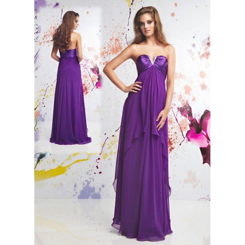 Excepcional Prom Vestido Púrpura Reino Unido Ideas Ornamento ...