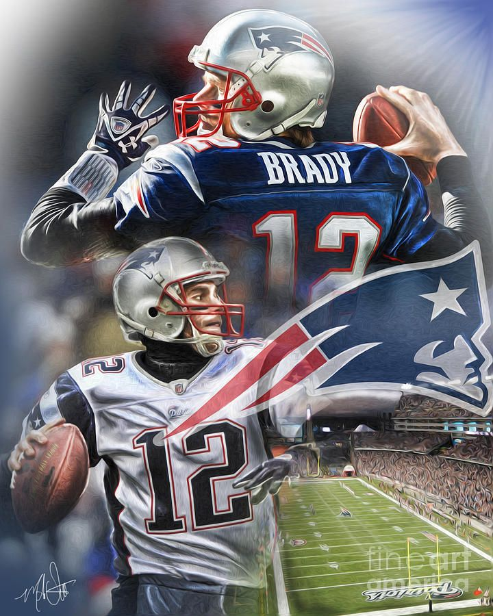 New England Patriots by Mike Oulton New england patriots