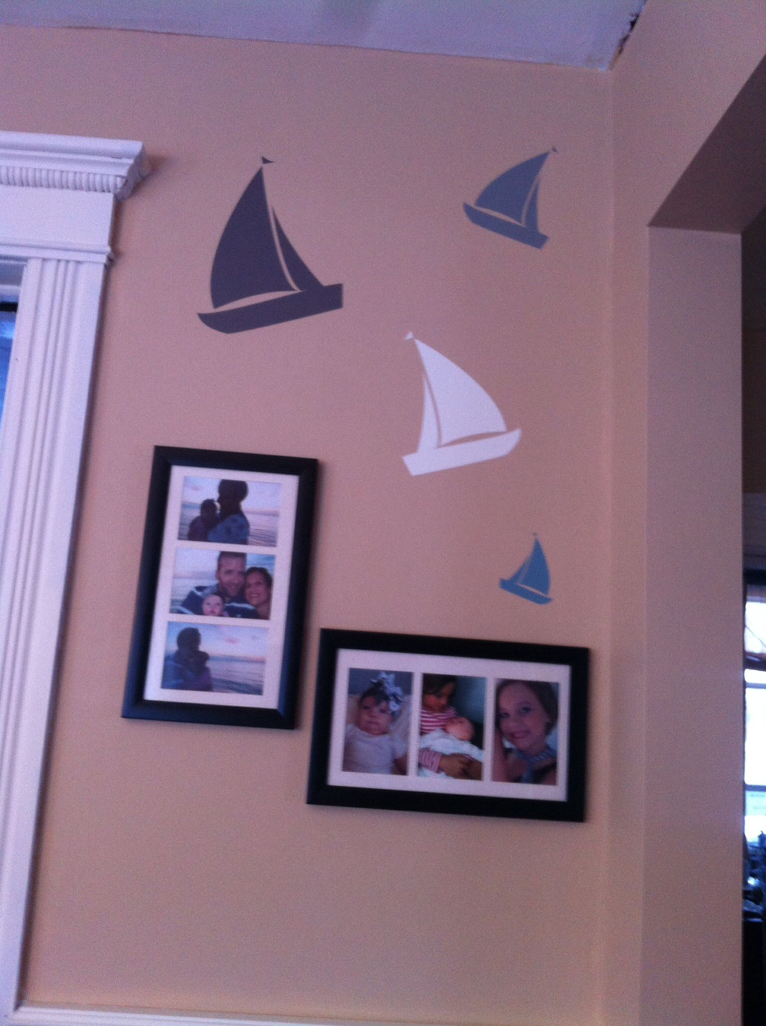 Sailboats In The Kitchen Uppercase Living