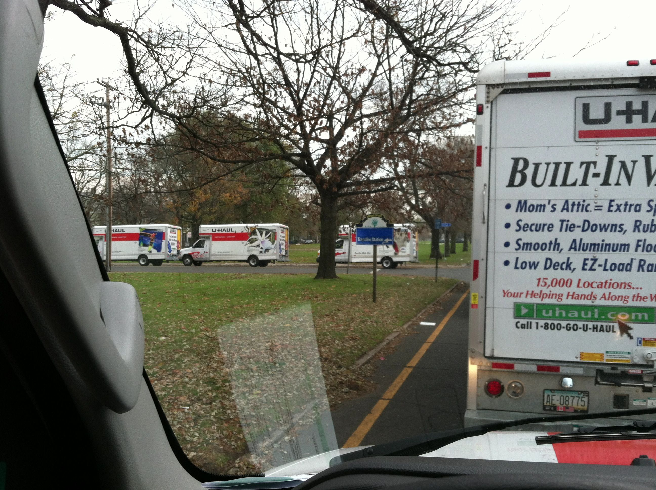 The Convoy Cargo Transport Uhaul Truck Disaster Relief