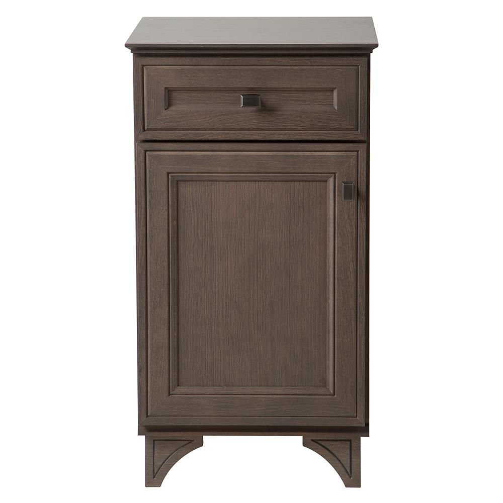 Home Decorators Collection Albright 19 in. W x 16.13 in. D Vanity Cabinet in Winter Gray