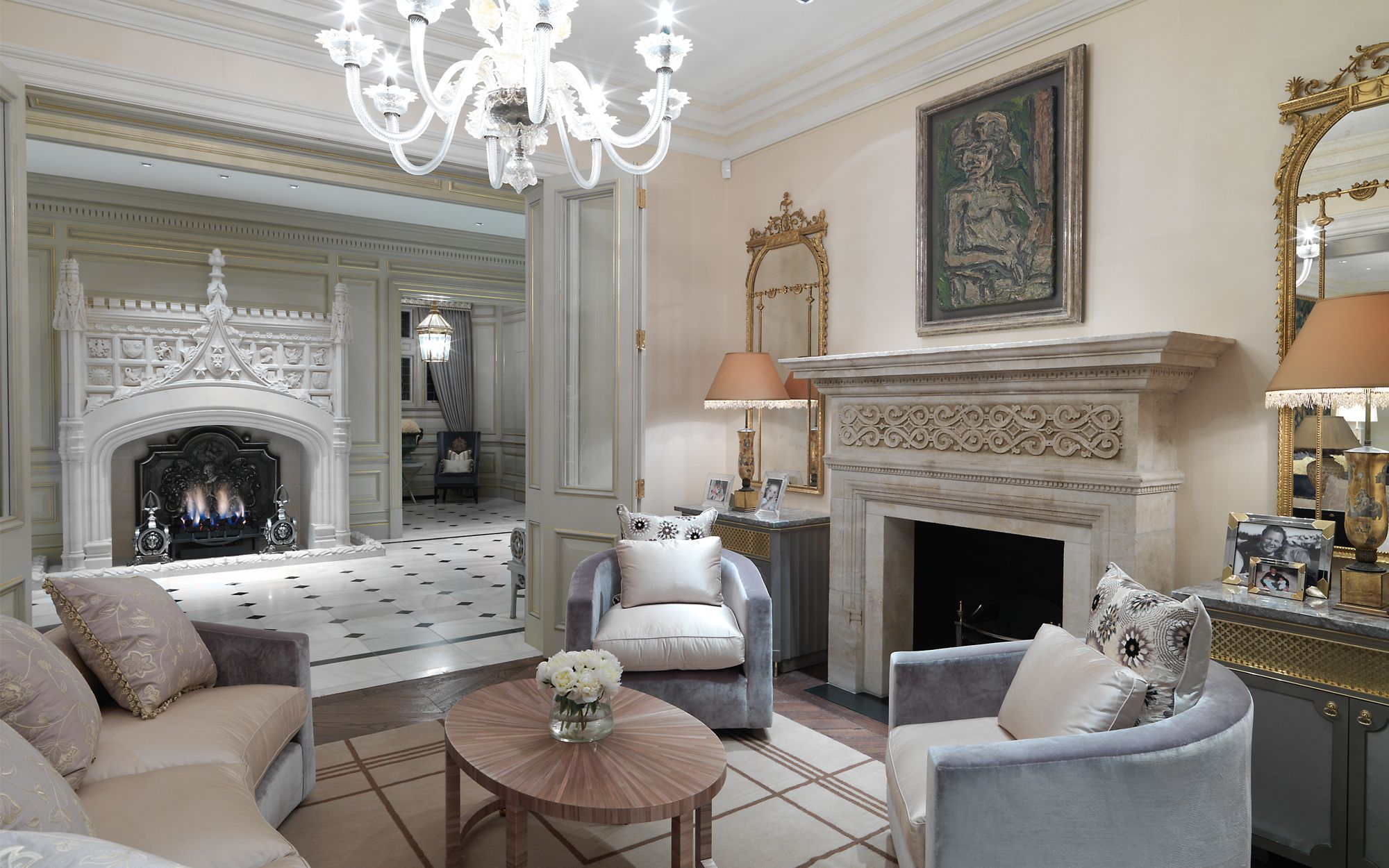 David collins studio private residential family home for Residential interior designers london