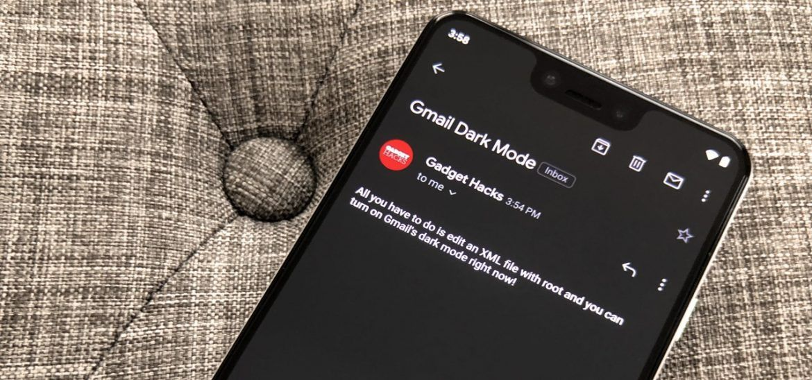 How to ForceEnable Dark Mode in Gmail for Android Right