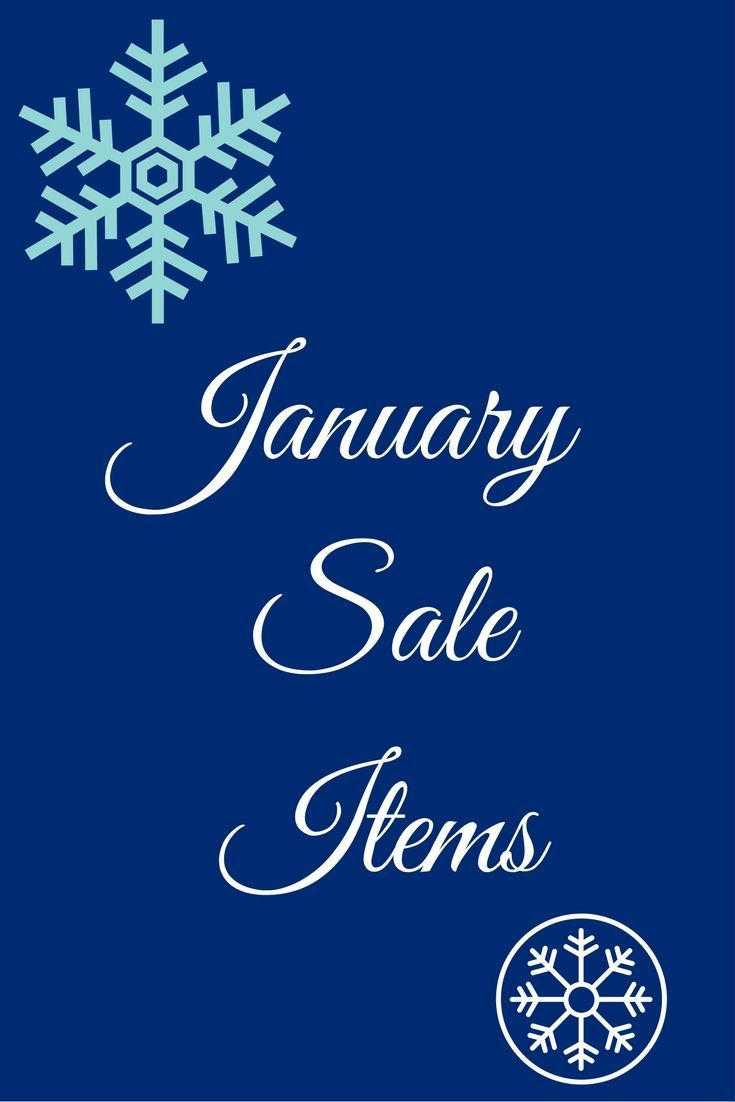 January Sales Items Stock up on these items | Modern ...