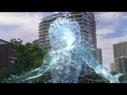 a whole tv show about mermaids!! haha!  H20 - just add water
