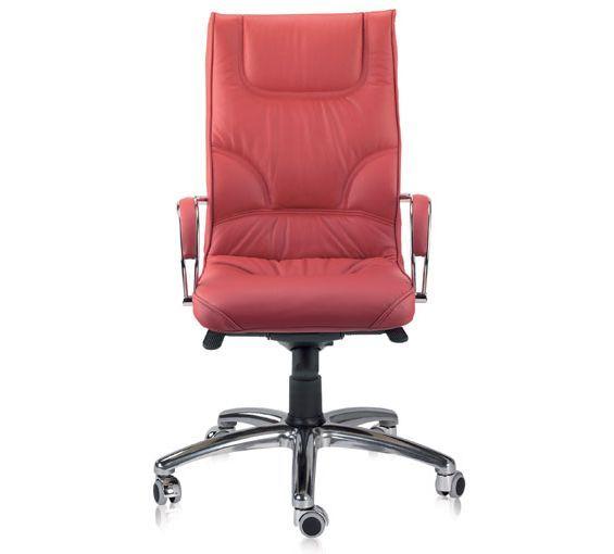 Sillon De Despacho Dile Office Sillon Alto Boss Tapizado En Piel