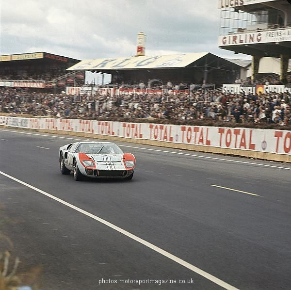1966 Le Mans 24 Hours Le Mans France 18th 19th June 1966 Ken
