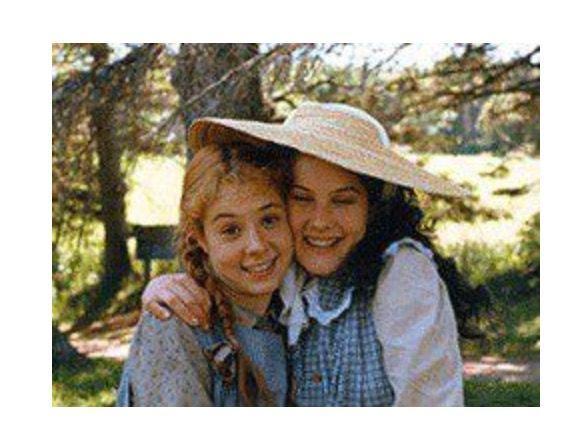 Anne Shirley Diana Barry Anne Of Green Gables Com Imagens