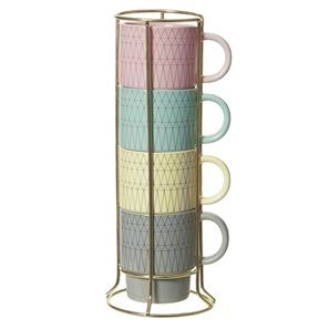 Cappuccino set mugs designer Mae Engelgeer