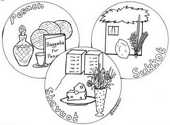 Sukkot Free Jewish Coloring Pages for Kids | Holidays and Free