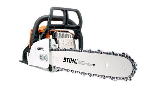 The Stihl MS170 petrol chainsaw is a perfectly capable, lightweight