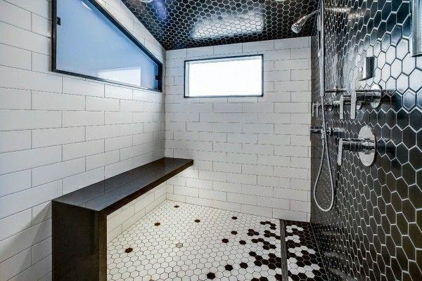 Schwarzes Badezimmer: 5 Vorteile und 50+ Ideen | Badezimmer Ideen ...