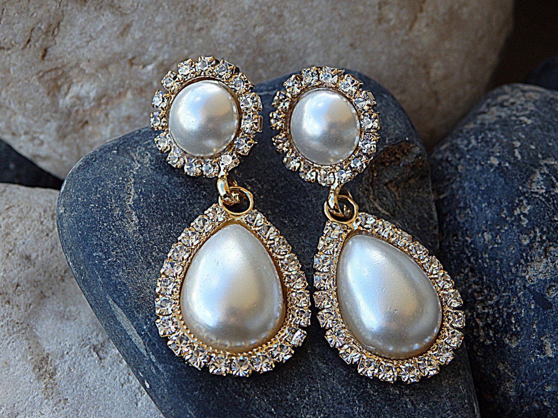 37++ Pearl earrings wedding jewelry ideas