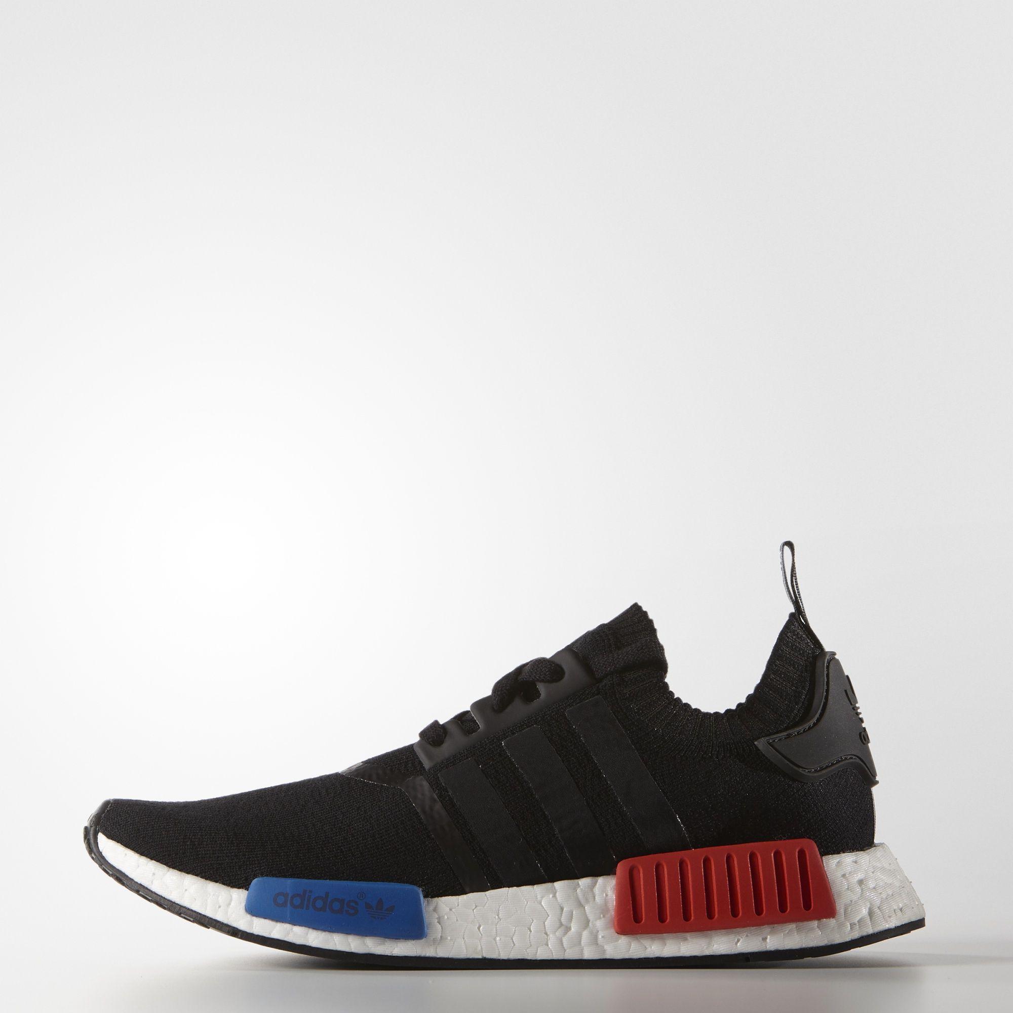 Adidas Chaussures De Sport Noir Primeknit Coureur Nmd bePVz