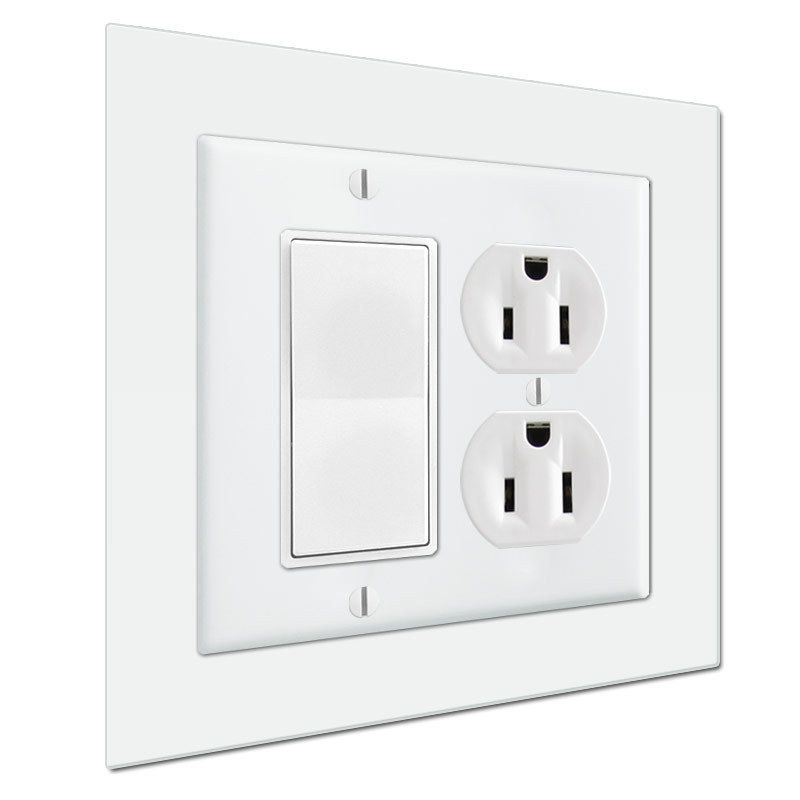 Jumbo 6 X 6 Light Switch Wall Plate Expander To Extend Cover Size Plates On Wall Light Switch Cover Size