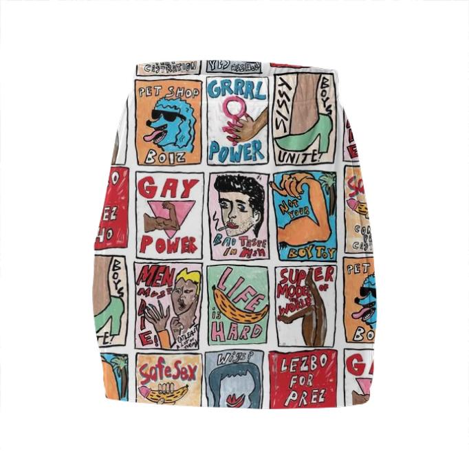 Somethin' 2 SAY Tube Skirt