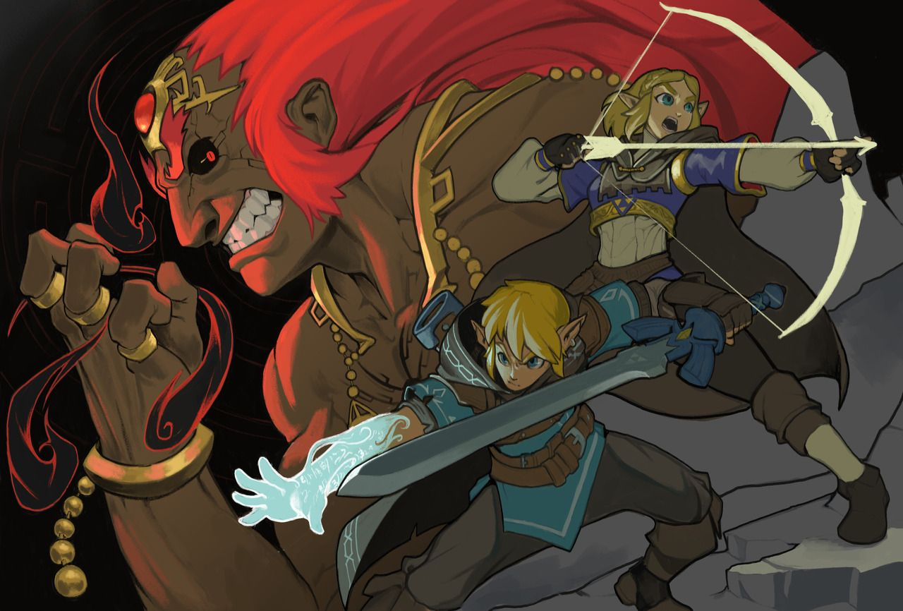 Legend Of Zelda Breath Of The Wild Sequel Art Link