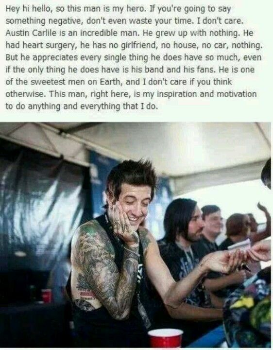 Can I Just Hug Him Really Hard? Austin Carlile Is A