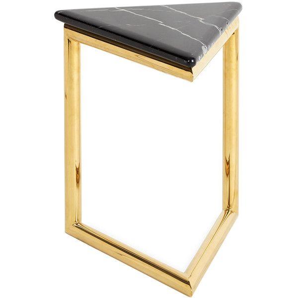 Jonathan Adler Ultra Triangular Side Table 795 Liked On