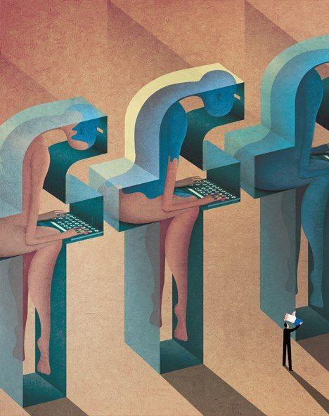 許凱迪插畫創作,精闢卻又幽默詼諧的「社論插畫」 - ㄇㄞˋ點子靈感創意誌