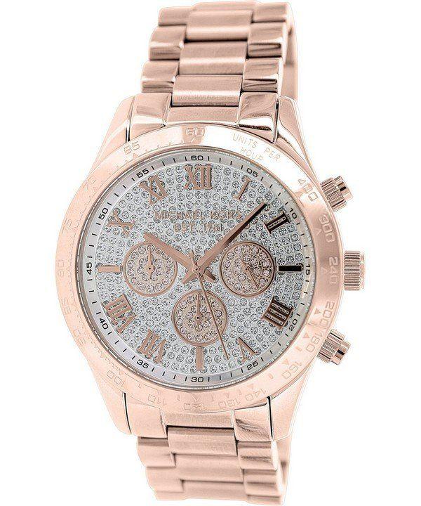 55e167ca0671 Michael Kors Layton Chronograph Crystal Pave Dial MK5946 Womens Watch