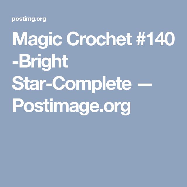 magic crochet  140