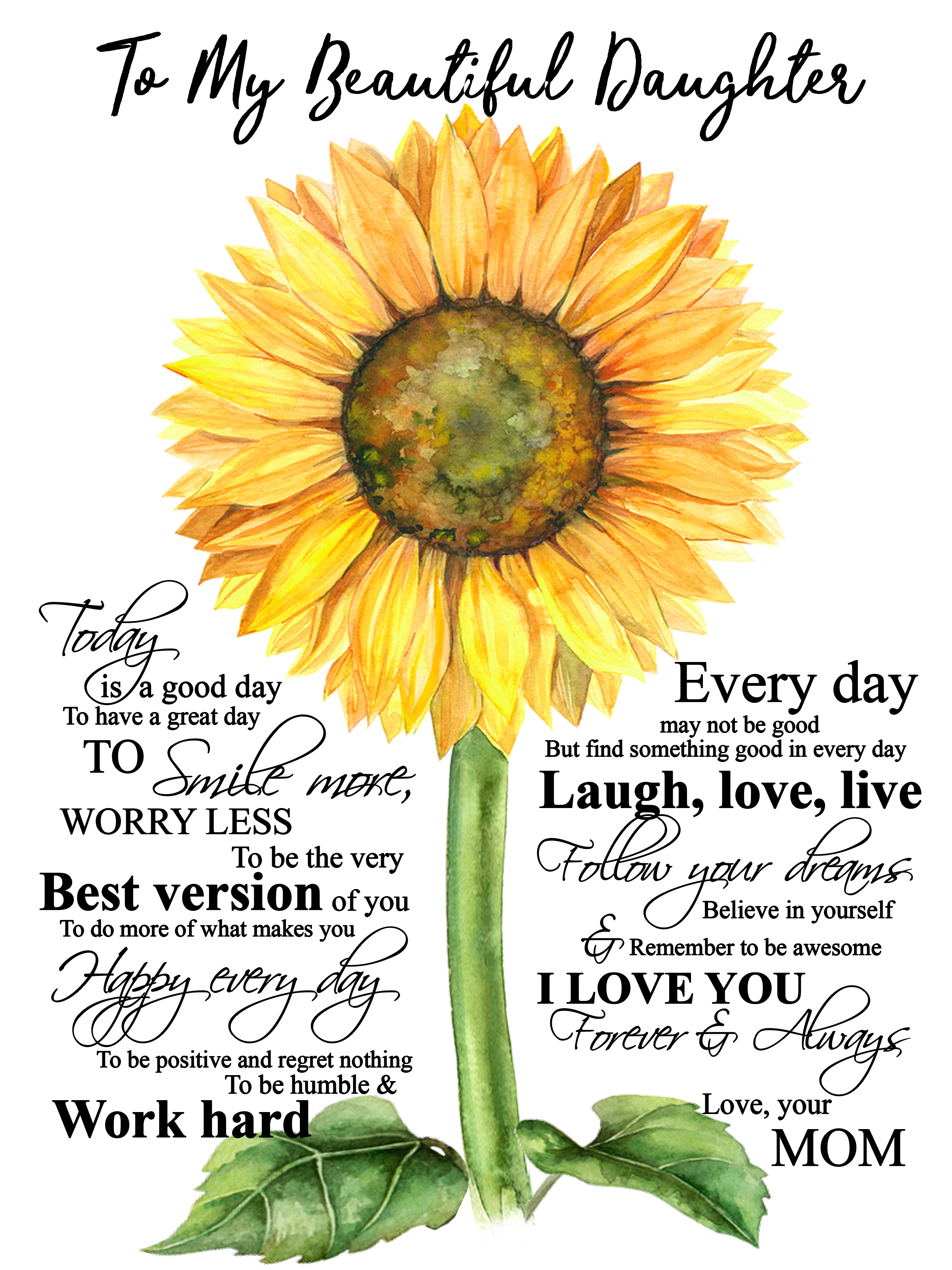 Sunflower Sunflower Quotes Great Day Quotes Mothers Quotes To Children