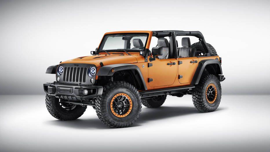 Jeep Concepts Crawl Into Frankfurt Jeep Wrangler Rubicon Jeep Wrangler Wrangler Rubicon
