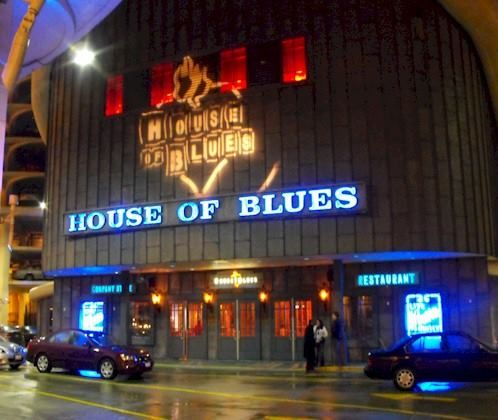 House Of Blues Restaurant In Myrtle Beach