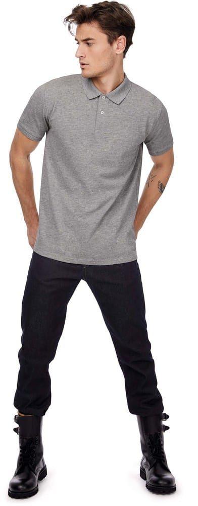 Pack 50 Mens organic polo shirt Urban Navy – B&C CGPM430 – Größe: XL